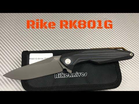 Rike Knife 801GS Kwaiken Titanium Frame Lock Knife w/G10 scale  Budget Rike ?