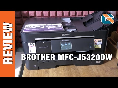 Brother MFC-J5320DW All in One Multi Function Printer Review