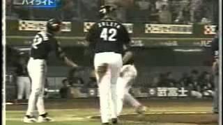 2003年8月1日 オリックス ブルーウェーブ対福岡ダイエーホークス 1対29