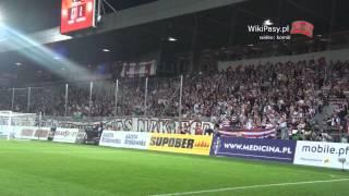 31.08.2013 Cracovia - Legia Warszawa 0:1 DOPING i OPRAWY (WikiPasy.pl)