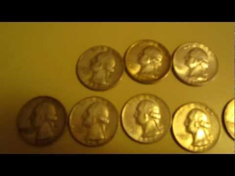 Silver Picker Coin Haul From Garage Yard Tag Sales - Banknotes Silver Coins No Scrap