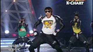 [K-Chart] #19. Hip Song - Rain (2010.5.14 / Music Bank)