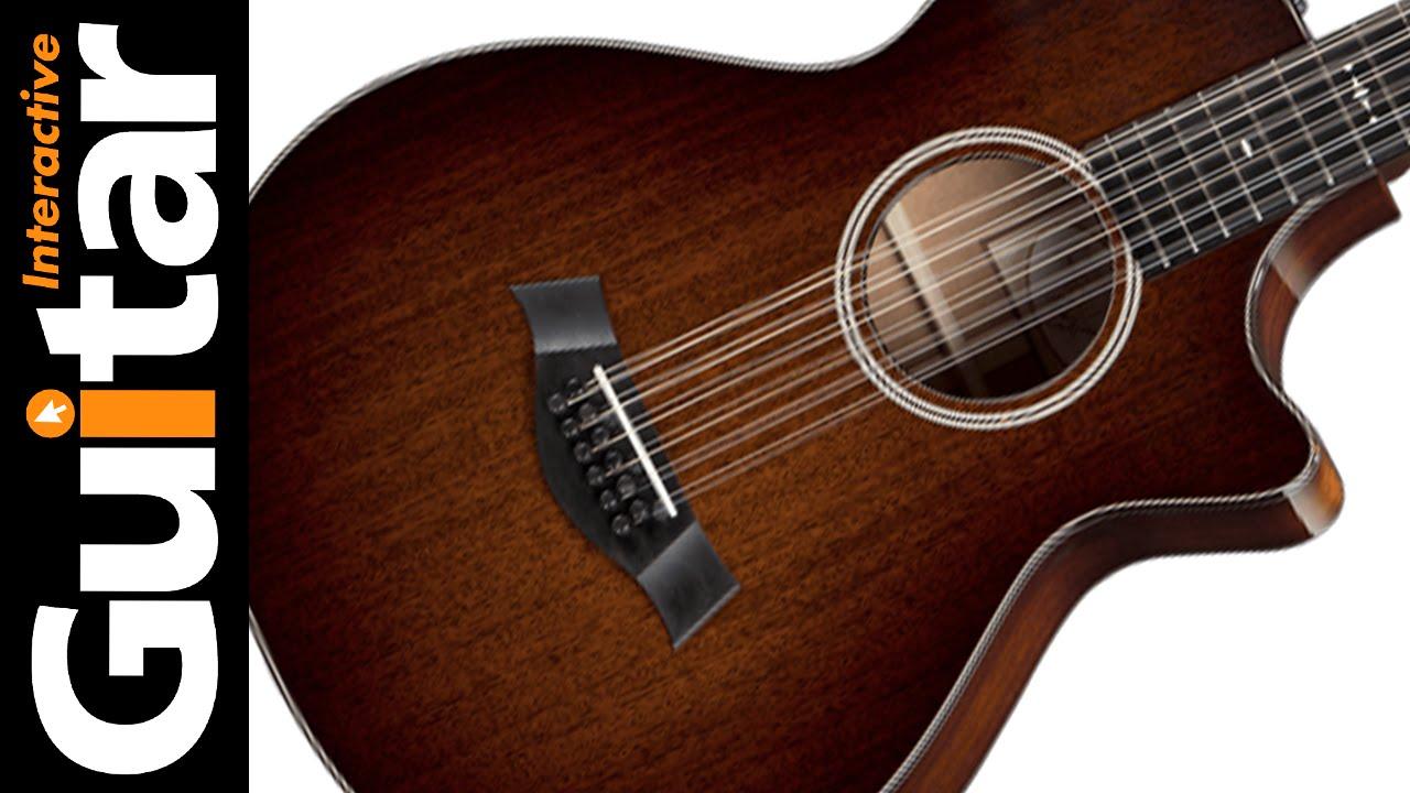 taylor guitar review 562ce 12 string acoustic youtube. Black Bedroom Furniture Sets. Home Design Ideas