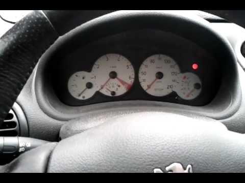 Peugeot 206 Gti In A Nutshell Broken Indicator Stalk Youtube