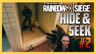 Rainbow Six Siege Hide and Seek #2 - Yes, Hide & Go Siege is a better name.