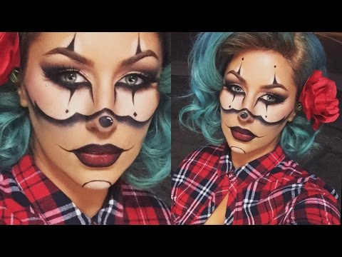 Gangster Clown Halloween Tutorial- CHRISSPY