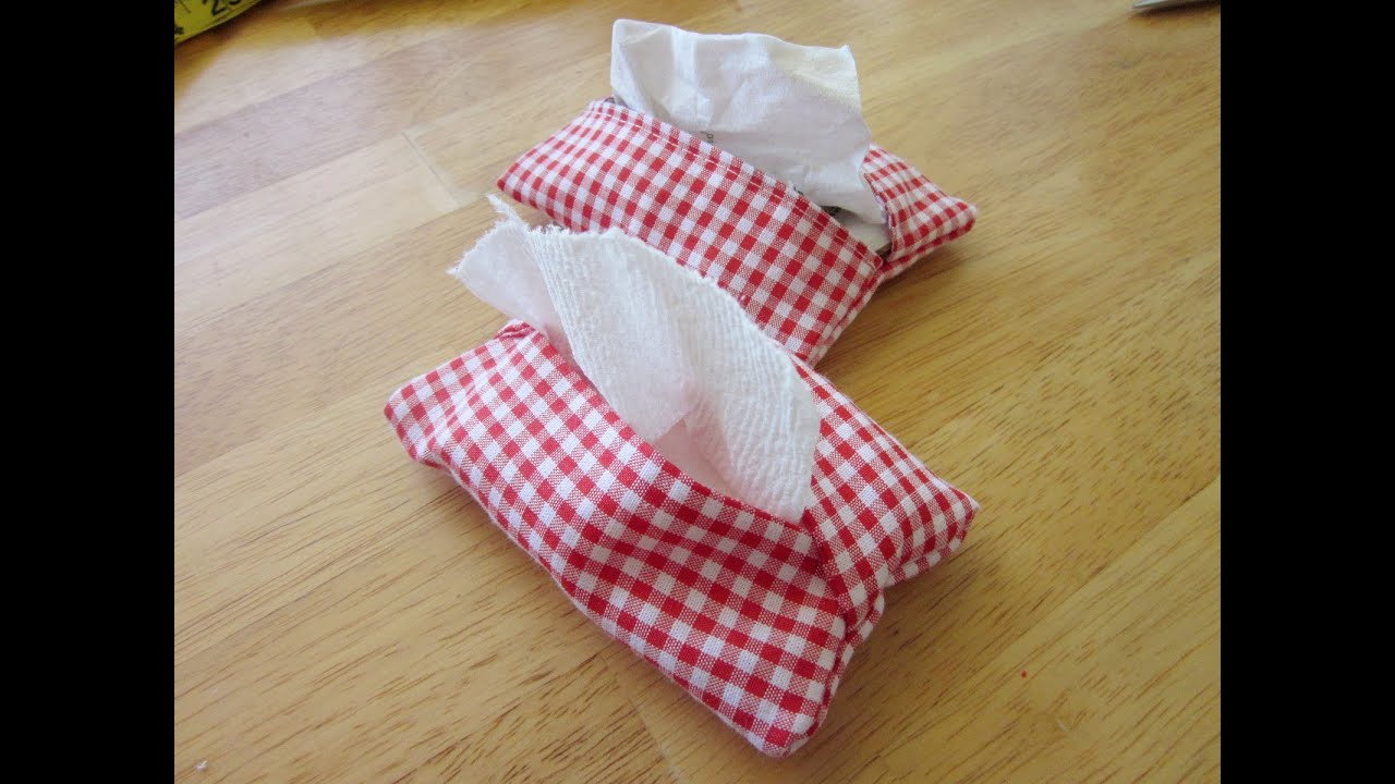 Tissue Pouch Tutorial Sew Easy Please Youtube