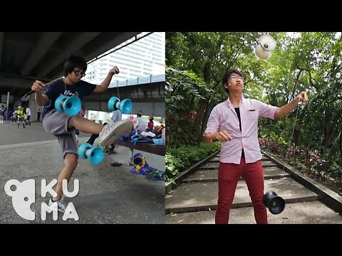 These Guys Show Us Their Moves With The Chinese Yo