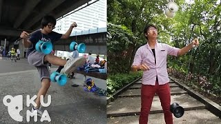 Dynamic Diabolo Duo - Chinese Yo-Yo Tricks
