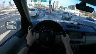Тест ЛЭНД Ровер Рэндж Ровер 2007г.В./Обзор/Land Rover Range Rover /3.6 TD V8/Test...