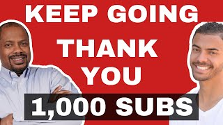 1,000 SUBSCRIBERS THANK YOU!