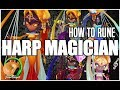 SUMMONERS WAR : How to Rune Harp Magicians like a G3 Player