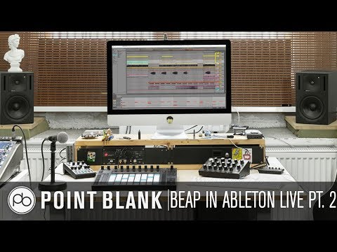 BEAP in Ableton Live (Max for Live): Creating and Manipulating Sounds
