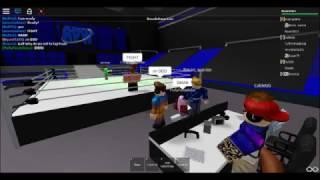Ultimate Warriors VS John Cena! (Smackdown LDS Wrestling) ROBLOX