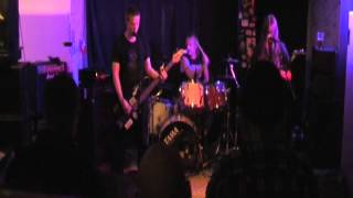 Axeslaughter-Stomping On Humanity/Serpents Dirge @La Barre 11.4.2014