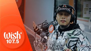 "Skusta Clee performs ""Umaasa"" LIVE on Wish 107.5 Bus"