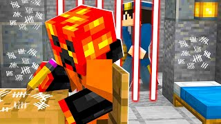 I Survived 500 Days in Minecraft Monster PRISON! *trapped*