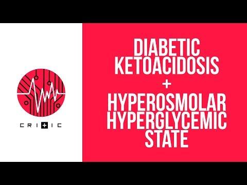 Diabetic Ketoacidosis (DKA) & Hyperosmolar Hyperglycemic State (HHS)