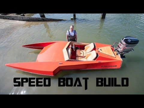 Speed Boat Build - Part 1