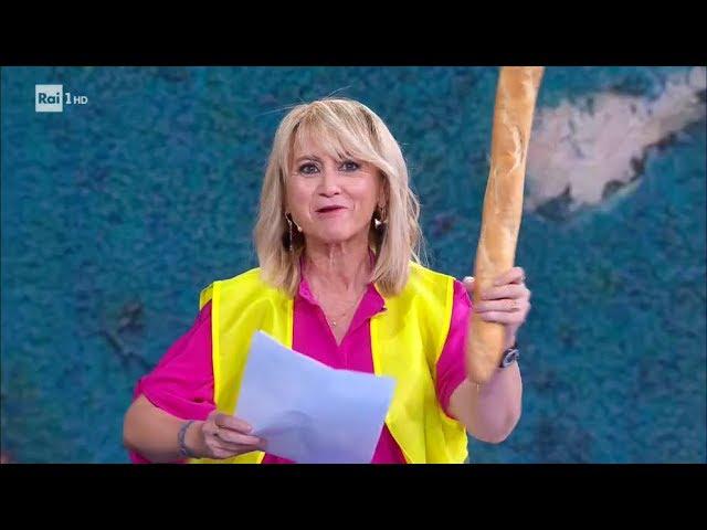 Luciana Littizzetto: Marte, la Hunziker e una lettera a Moscovici - Che tempo che fa 16/12/2018