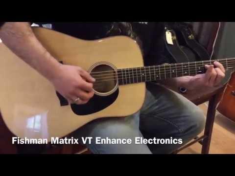 BRAND NEW! 2017 Martin D-16E Thin Body Dreadnought Acoustic Guitar