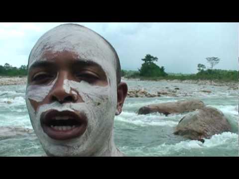 Exfoliación en el río Bojaba de Saravena, Colombia. Videos De Viajes