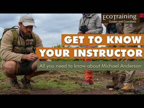Get to know your instructor | Michael Anderson
