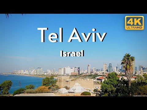 Tel Aviv Israel 4k Travel Tour