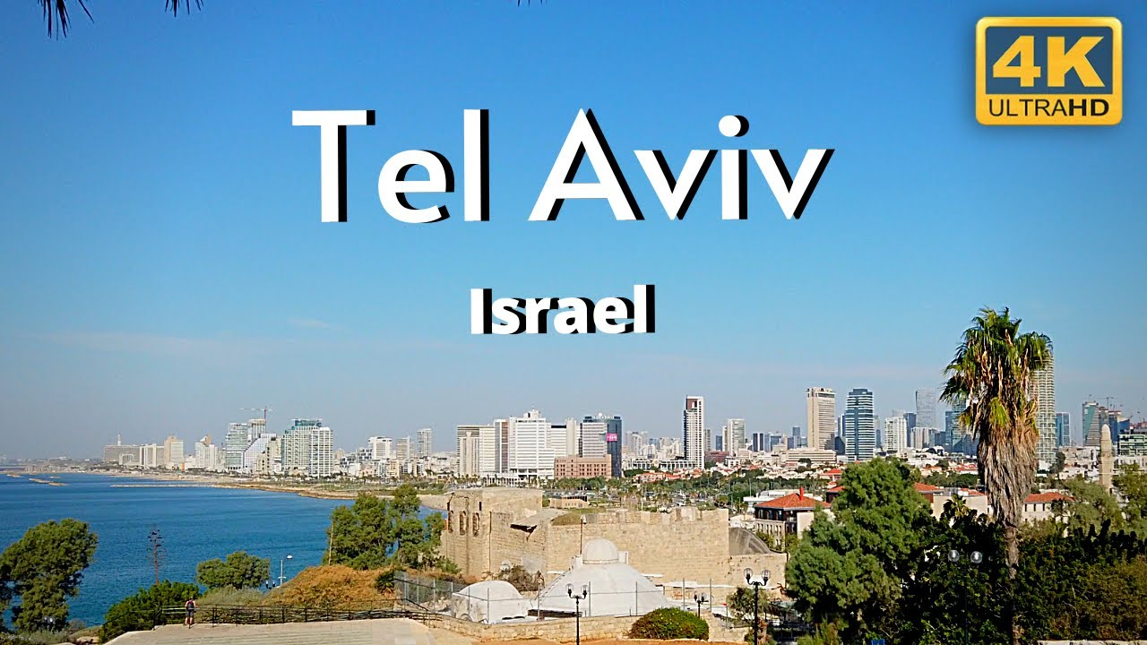 Download Tel Aviv Israel 4k Travel Tour