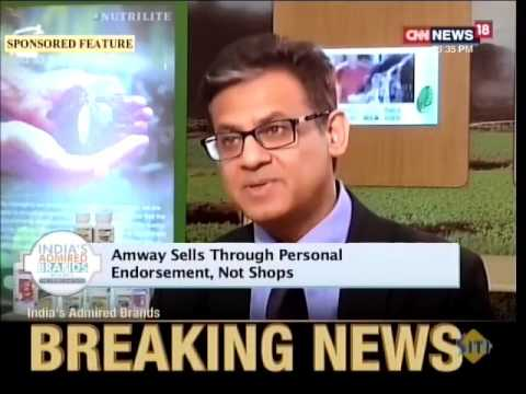 Catch a special feature on Amway, India's most admired brand