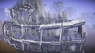 dynamic dicing destruction in blender game engine extended