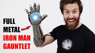 Full Metal IRON MAN GLOVE!