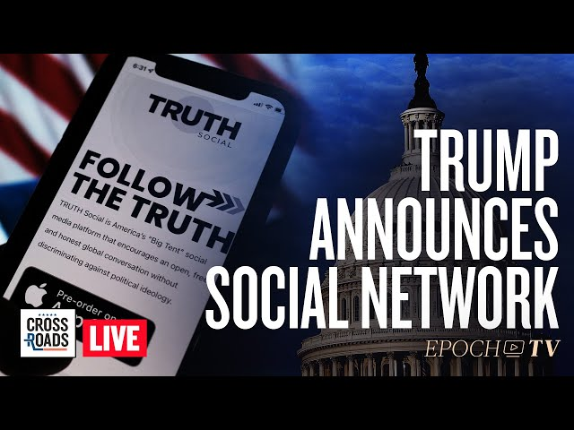 Live Q&A: Trump Unveils Social Network and Media Group; Evergrande Collapse Accelerates
