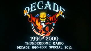 Bass D @ Thunderdome Radio Decade 1990 2000 Special 2013