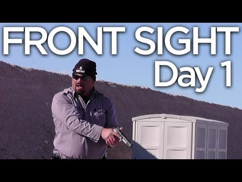 Front Sight 4-Day Handgun Training V-Log: Day 1