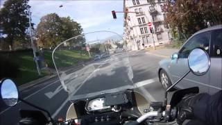 essai caméra PNJ en 720p en moto