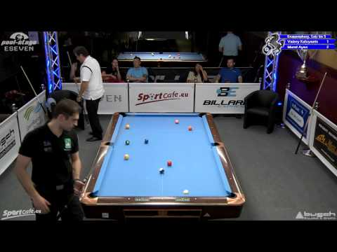 Stuttgart Open 2012, 10 Kuloyants-Ayas, 10-Ball, Pool-Billard
