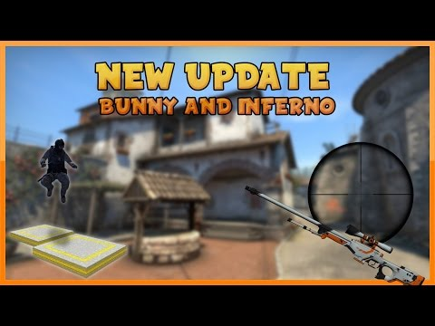 CSGO - NEW UPDATE AWP BUNNY & INFERNO