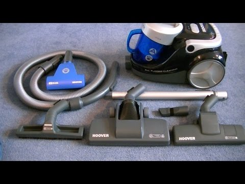 Hoover Blaze  Bagless Cylinder Vacuum Cleaner Demonstration & Review