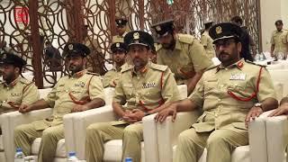 سعادة اللواء عبد الله خليفة المري، القائد العام لشرطة دبي يشهد ختام دبلوم لغة الإشارة.