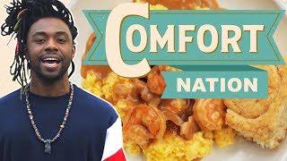 Shrimp and Grits in South Carolina 🍤 COMFORT NATION