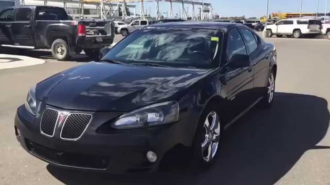 black 2007 pontiac grand prix gxp sedan at scougall motors in fort macleod ab youtube. Black Bedroom Furniture Sets. Home Design Ideas