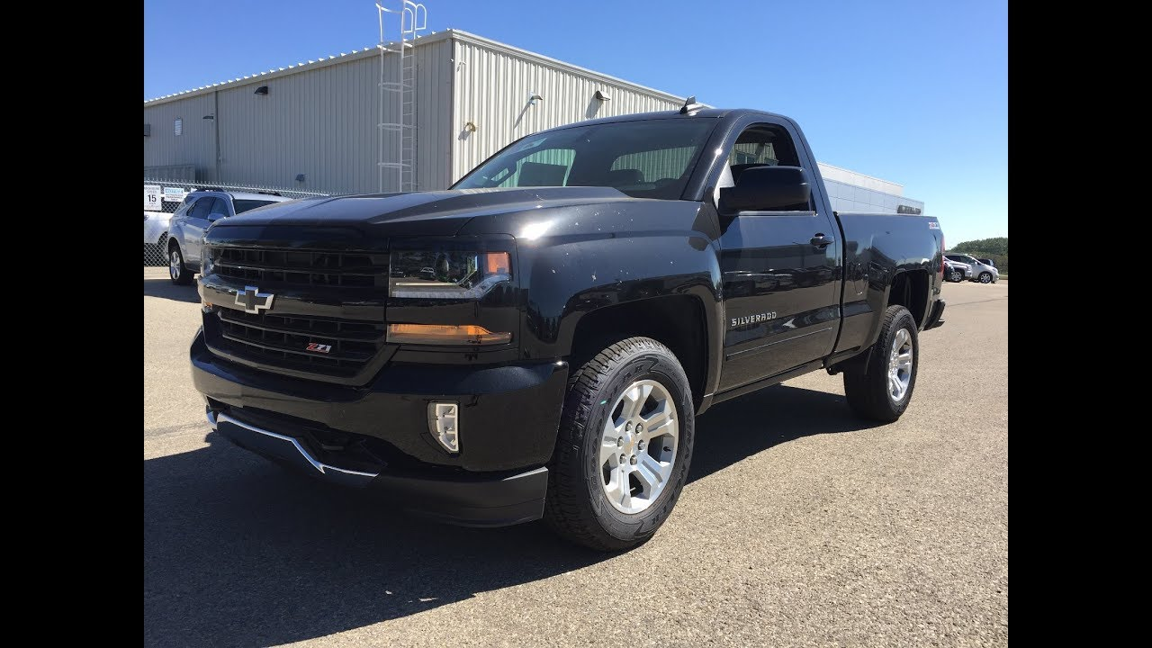 2017 Chevrolet Silverado 1500 Regular Cab Box Black 2lt 4x4 17n207