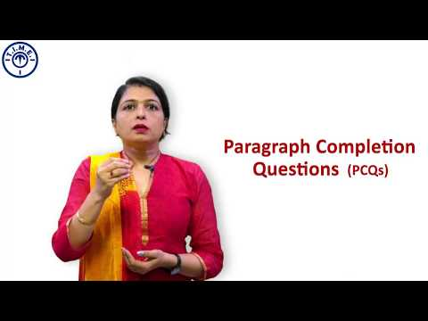 Paragraph Completion Questions