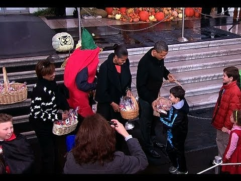 Trick-or-Treat with the President and First Lady