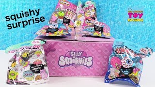 Baixar Silly Squishies Surprise Present Squish-Dee-Lish Squishy Opening Toy Review | PSToyReviews
