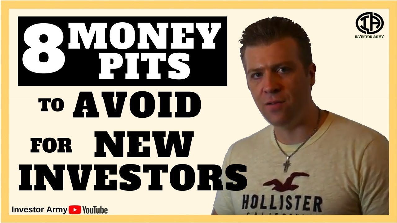 8 Money Pits to Avoid For Real Estate Investors
