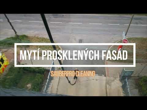 Mytí prosklených fasád Praha a celá ČR .