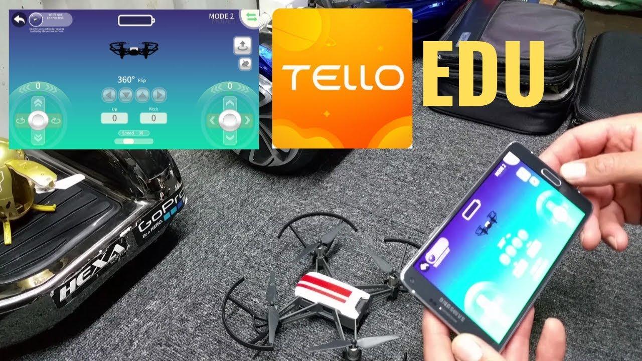2019 New DJI Tello EDU App - Is it worth it?