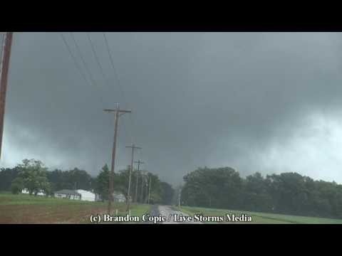 VIOLENT EF-3 Tornado strikes Northwest Ohio! Full Package!